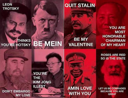 This dictator valentine is brought to you courtesy of www.pleated-jeans.com